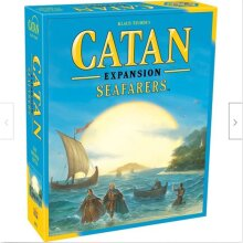 Catan Board Game Seafarers Expansion 5th Edition Board