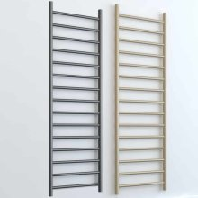 ALPINE ELEMENTS Modern Heated Towel Rail / Warmer - Central Heating