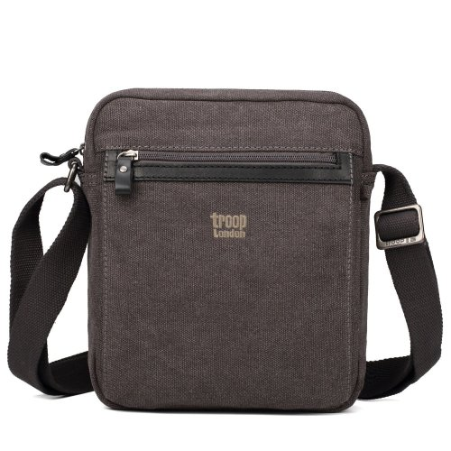 Troop London Classic Canvas Across Body Bag | Buy Across Bags Online | Canvas Across Body Bag | shoulder bag