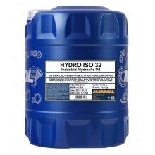 Mannol 20L ISO 32 Hydraulic Oil High Grade Shell Tellus 27 DIN 51524 part 2
