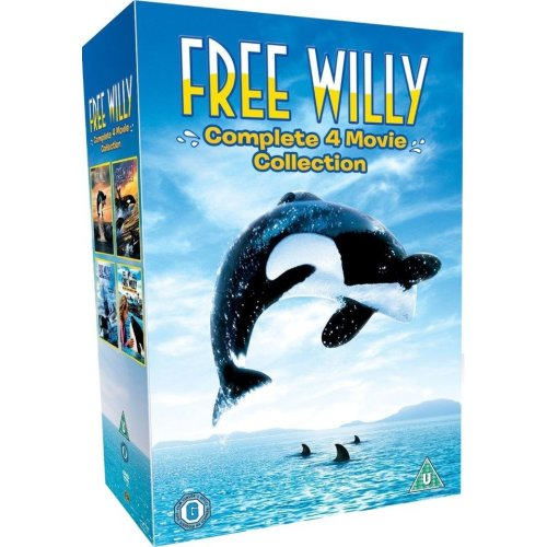Free Willy - Complete (4 Film) Collection DVD [2010]