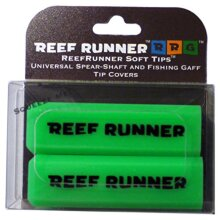 Reef Runner Soft Tips, Green, 4 inches