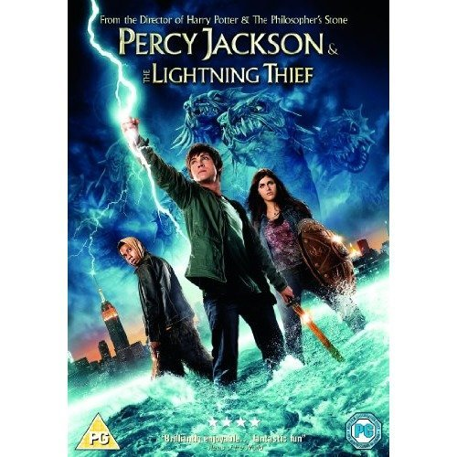 Percy Jackson & The Lightning Thief DVD [2012]