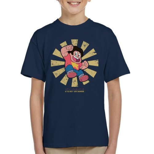 Steven Universe Retro Japanese Kid's T-Shirt