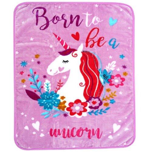 Baby Blanket, Unicorn