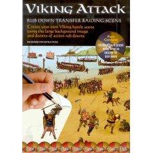 Viking Attack - Rub Down Transfers Raiding Scene