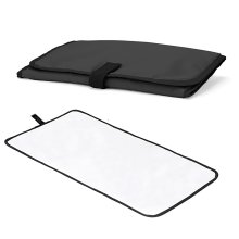 Baby Travel Chaning Mat Foldable and Waterproof - Black
