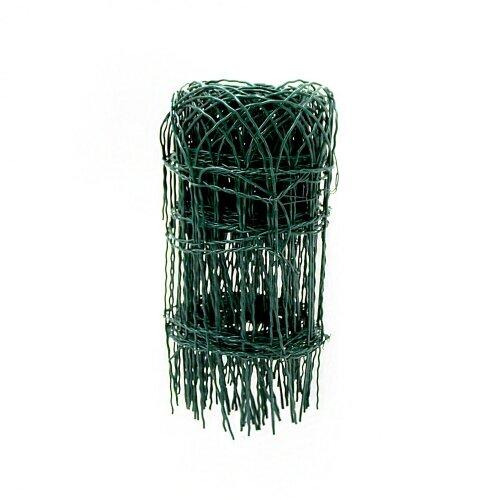 Oypla 10m x 400mm Garden Lawn Border Edging Fencing PVC Coated Wire