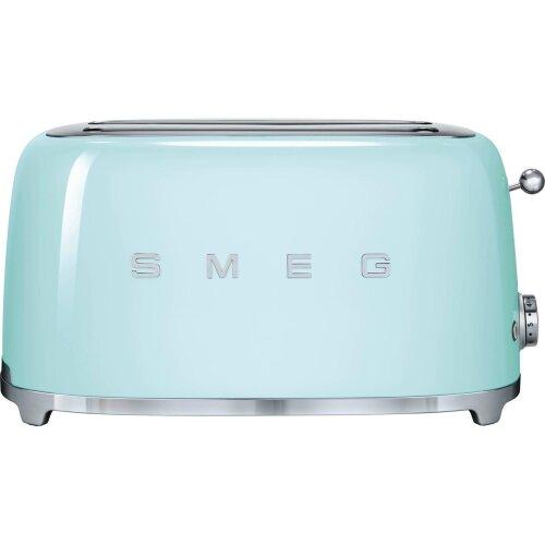 Smeg 50's Retro TSF02PGUK 4 Slice Toaster - Pastel Green
