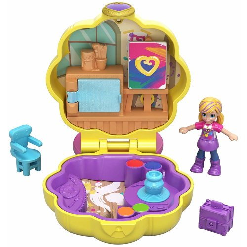 Polly Pocket GCN10 Tiny Pocket Places Awesome Art Studio