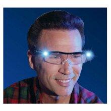 180% LED Magnifying Glasse Loupe Magnifier Glasses + Led Lighting Lamp