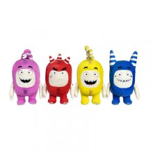 """(Fuse (Red)) - ODDBODS Fuse Soft Stuffed Plush Toys — for Boys and Girls — Red (12"""" Tall)"""