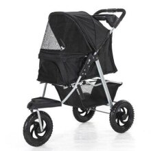 Pet stroller dog cart folding removable and washable/split pet car