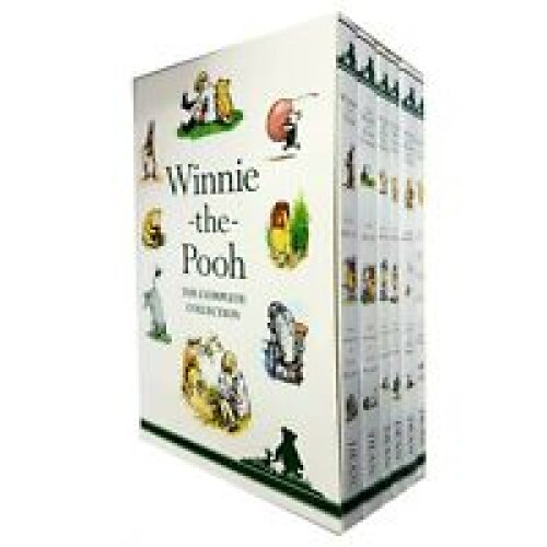 A.A. Milne 6 Books Collection Set Winnie-the-Pooh