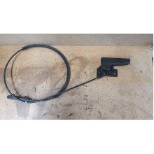 Audi A4 AVANT BONNET CABLE AND LEAVER  3C2823535 - Used