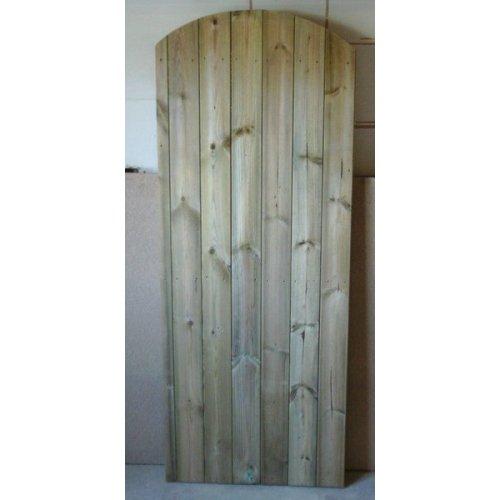 Wooden Garden TVG Arched Top Garden Gate 6ft - UP TO 8 WEEK WAIT