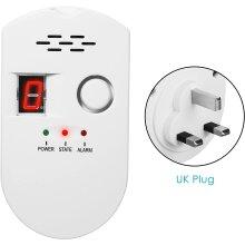 Gas Detector Alarm Combustible LPG Natural Gas Detector Sensor Plug