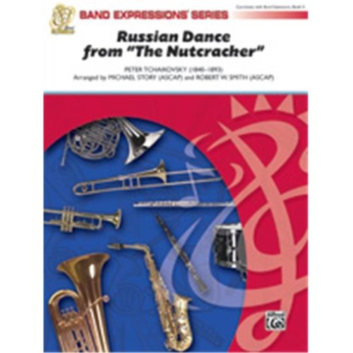 Alfred 00-35360 RUSSIAN DANCE-NUTCRACKER-BE2 SET4D