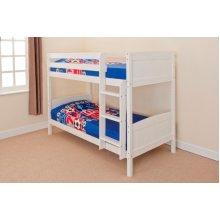 Kensington Wooden Bunk Bed Frame | Solid Pine Bunk Bed
