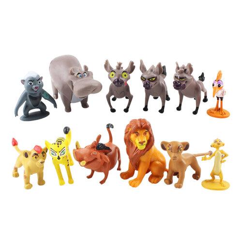 12pcs Lion King Simba Timon Pumbaa Figure Toy