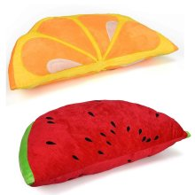 Fruit Design Soft Cushion Sofa Throw Pillow Home Bedroom Round Seat Couch Chair