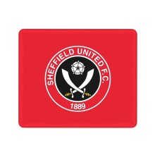 Sheffield United Mouse Pad with Stitched Edge Durable Non Mousepad for Laptop, Computer & PC