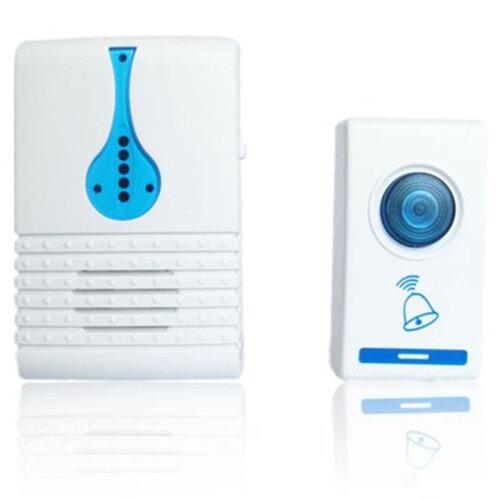 Wireless Door Bell Chime Range Doorbell Digital Cordless Portable Home