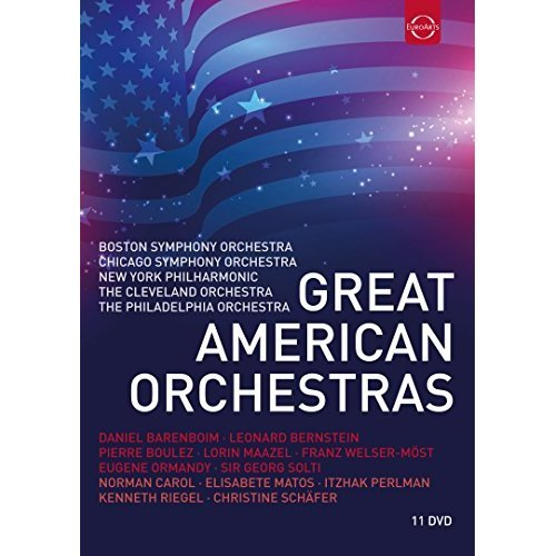 Great American Orchestras (DVD ) [2017]