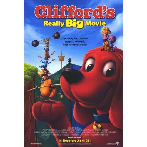 Cliffords Really Big Movie Poster - 27 x 40 in.