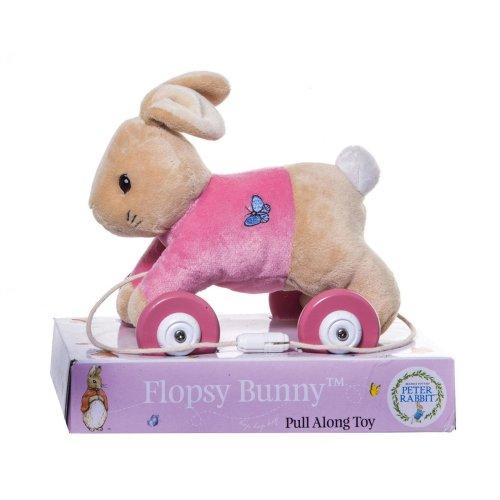 Rainbow Designs Flopsy Bunny Pull Along Toy