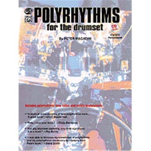 Alfred 00-EL9591CD POLYRHYTHMS FOR THE DRUMSET BK&CD