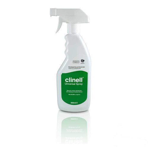 Clinell Multi-Purpose Disinfectant Universal Cleaning Anti Bacterial Spray 500ml
