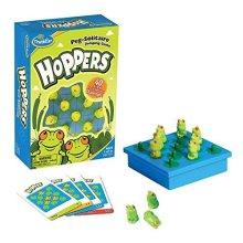 Think Fun Hoppers Logic Game Teaches Critical Thinking Skills Through Fun Gameplay