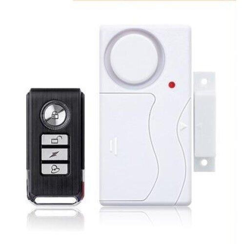 (A) Door Window Entry Wireless Remote Control Sensor Host Burglar Security Alarm System