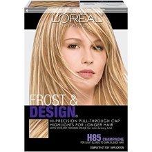LOréal Paris Frost and Design Cap Hair Highlights For Long Hair, H85 Champagne