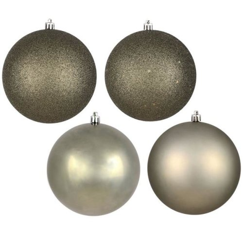 Vickerman N590623 2.4 in. Wrought Iron Assorted Ball Ornament, 24 per Box - Pack of 12