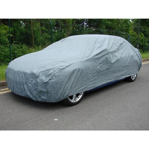 Large Universal Heavy Duty Car Cover UV Protection Breathable Water Resistant