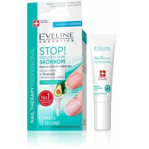 EVELINE Professional Cuticle Remover with avocado - STOP EXCESS CUTICLES GROWTH
