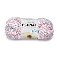 Bernat Baby Coordinates Ombre Yarn, 4.25 oz, Gauge 3 Light, Dove Girl