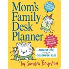 Mom's Family Desk Planner 2022 BOOK(PAPERBACK)