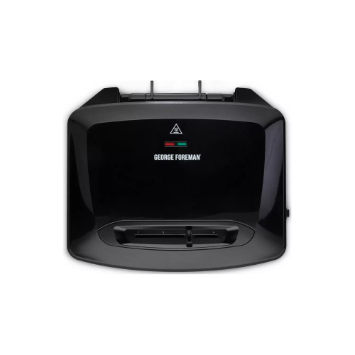 George Foreman 24340 1500W Large Grill, Removable Plates, Black