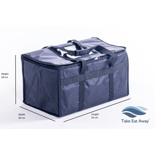 Extra Large Food Delivery Bag Thermal Insulated Deliveries Bags 39 litres T8