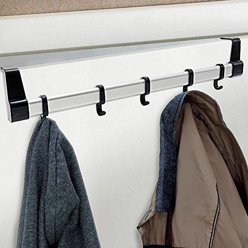 GEEZY Over Door 5 Hook Clothing Rack