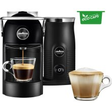 Lavazza Jolie & Milk 18000416 Pod Coffee Machine - Black
