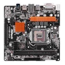Asrock H110M-DGS, Intel H110, 1151, Micro ATX, DDR4, DVI