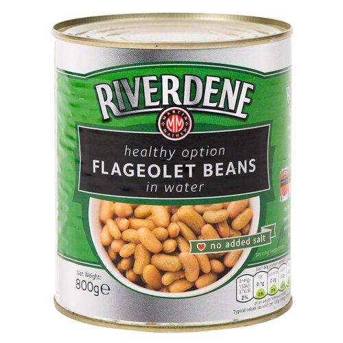 Riverdene Flageolet Beans in Water - 1x800g