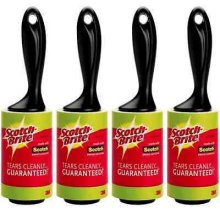 4 Scotch Brite Lint Roller Removes Hair and Fluff 3 Meters by Scotch Brite