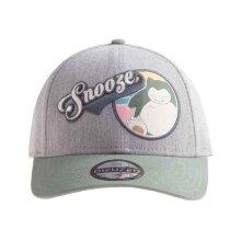 Pokemon Baseball Cap Snorlax Snooze Logo new Official Grey Strpaback