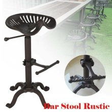 Vintage Tractor Seat/Bar Stool Rustic Cast Iron Industrial Style