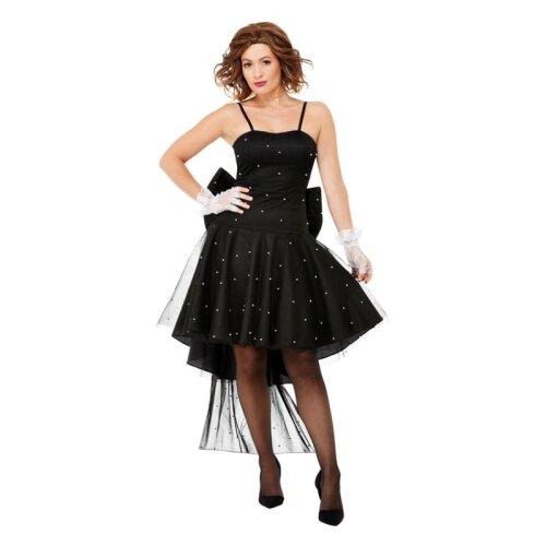 Womens 80s Rara Dress (Size 12-14)